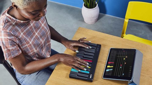 ROLI LUMI portable beginner's keyboard features lights to guide you as you play