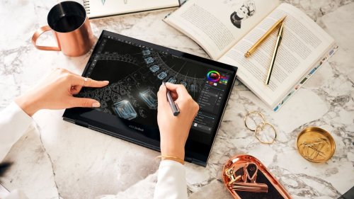 ASUS ZenBook Flip S convertible laptop is gorgeously thin and powerful