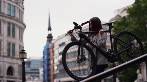 FuroSystems Aventa lightweight eBike provides an elegant fun ride, day and night