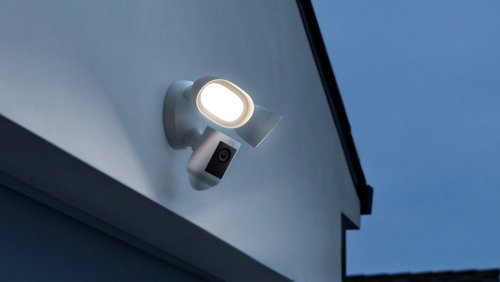 Ring Floodlight Cam Wired Pro has ultrabright LEDs and 3D Motion Detection