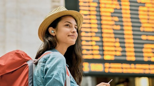 Panasonic RZ-S300W Compact Bluetooth Earphones have an easy-to-use touch sensor