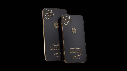 Caviar Jobs 4 limited-edition iPhone 12 Pro is dedicated to the iPhone 4 10th anniversary