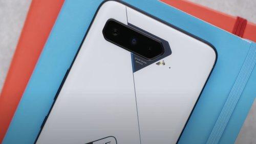 ASUS ROG Phone 5 Ultimate gaming phone packs 18 GB of RAM with a rear matrix display
