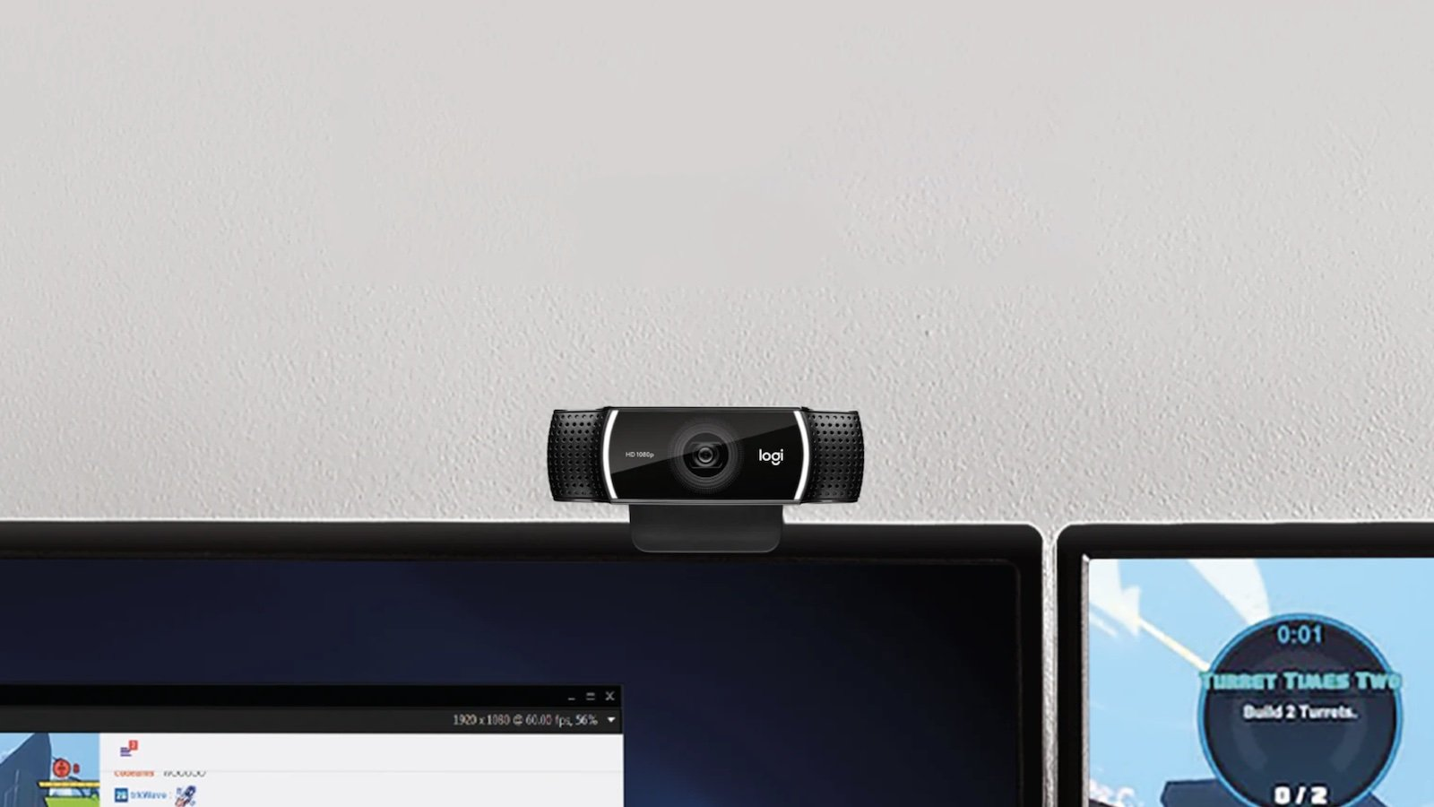 Logitech C922 Pro HD Stream Webcam has hyper-fast HD 720p at 60 fps for serious streamers