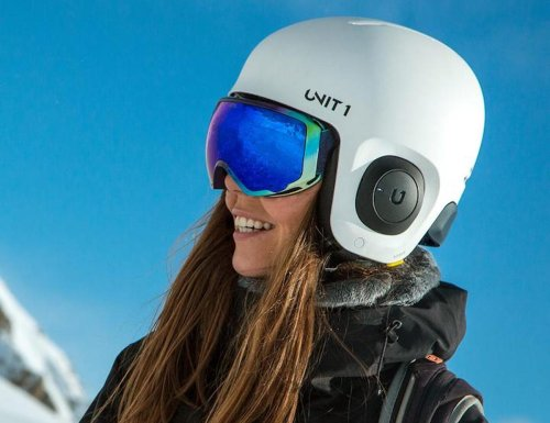 UNIT 1 Soundshield Winter Sports Helmet Kit improves your time on the slopes