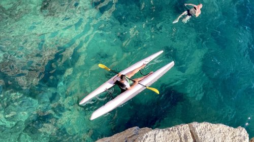Super Kayak combines speed, stability, and portability in one design