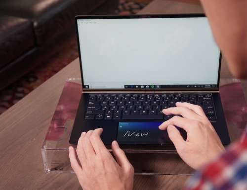 ASUS ScreenPad 2.0 Touchscreen Trackpad gives you nearly 6 more inches of screen