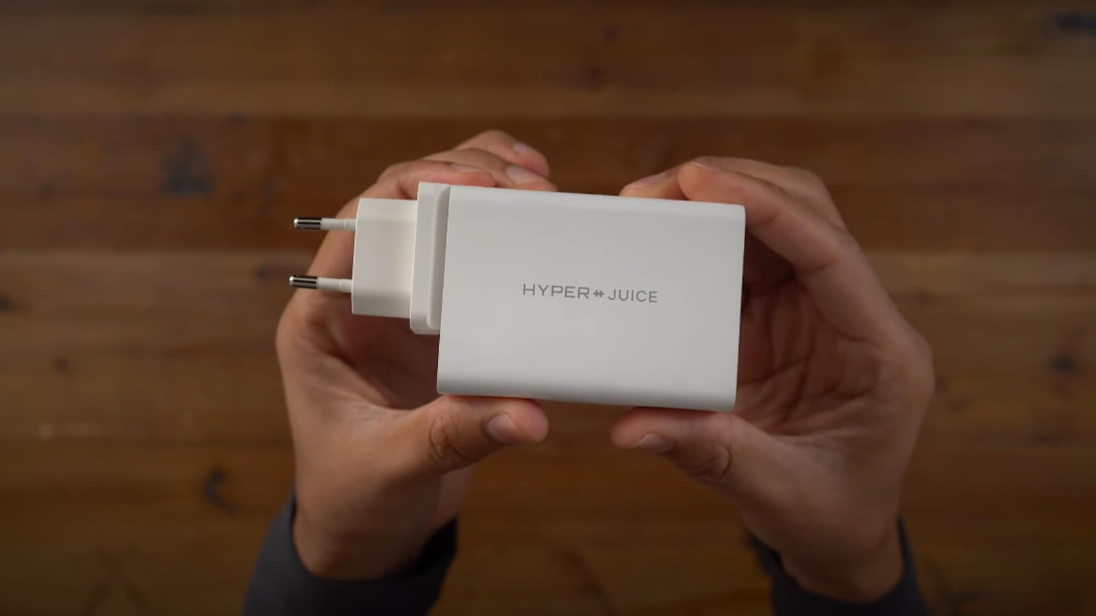 HYPER HyperJuice 100W GaN Charger powers 4 devices simultaneously