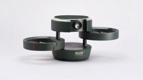 ALVIX multifunctional drone concept has a wearable for tracking