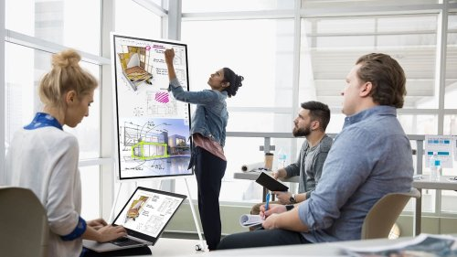Samsung Flip 2 Display 2021 replaces paper flip charts with a digital design
