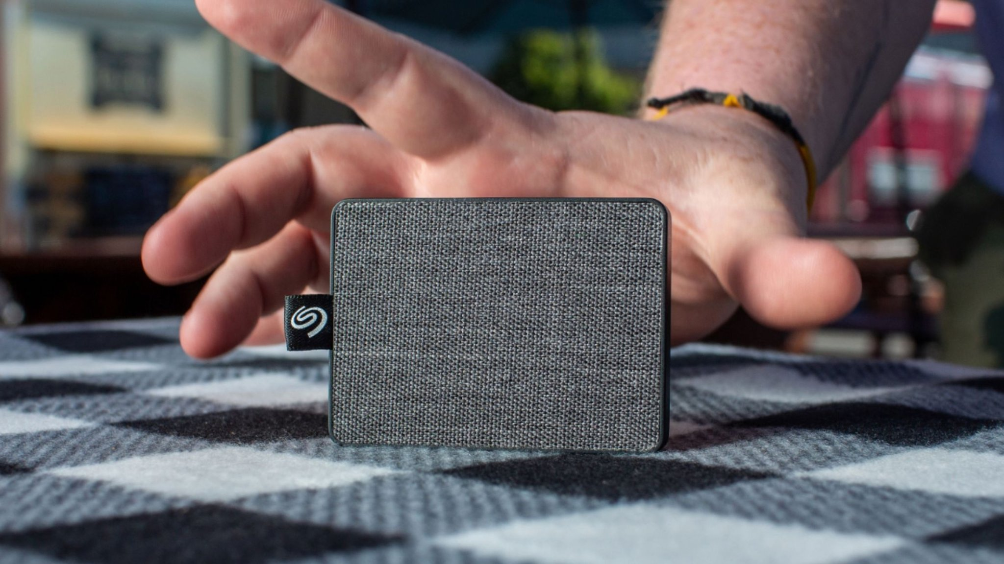 Seagate One Touch SSD tiny external drive works at high speed for video streaming