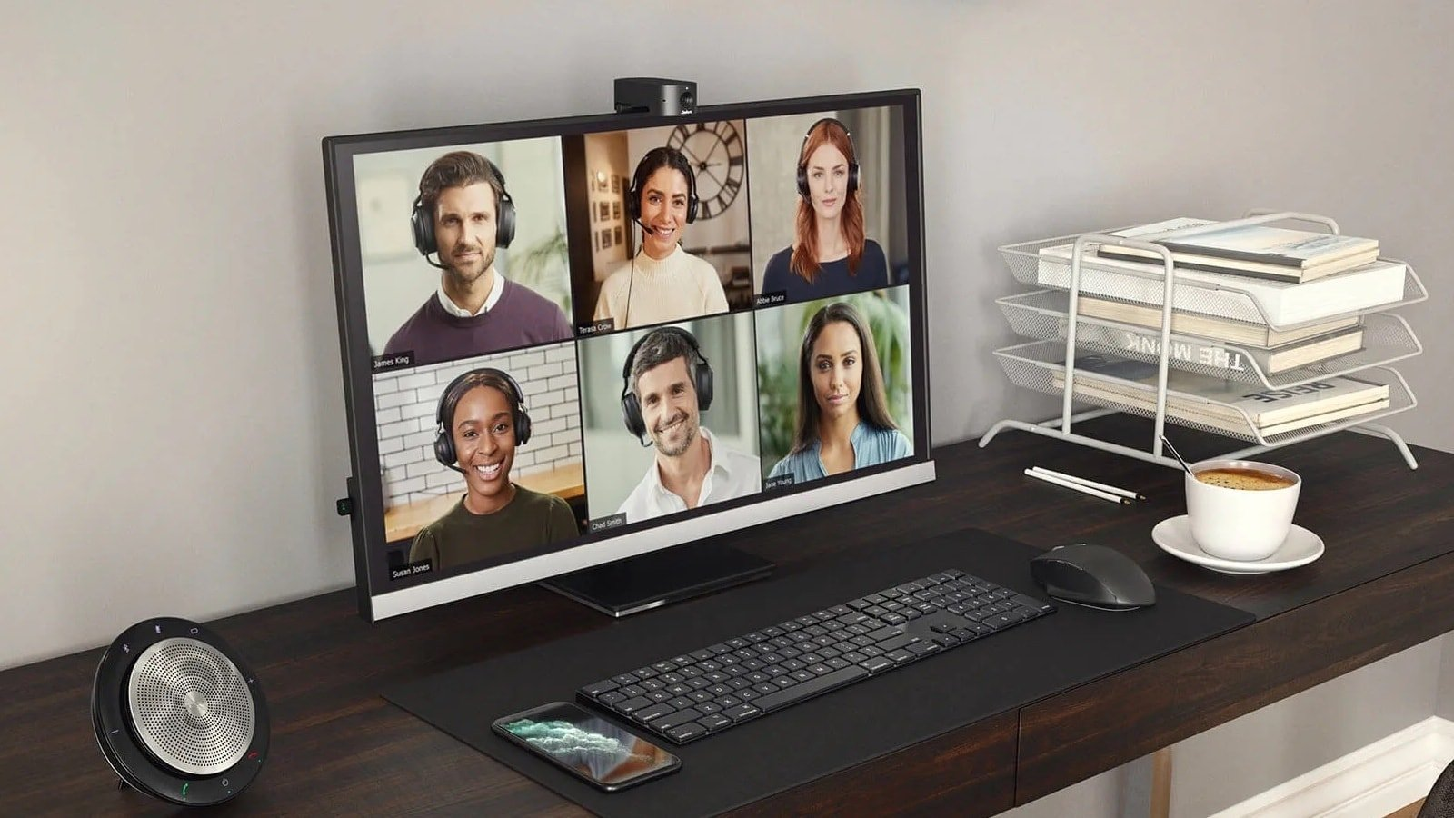 Jabra PanaCast 20 videoconferencing camera delivers 4K Ultra HD video with AI enhancement