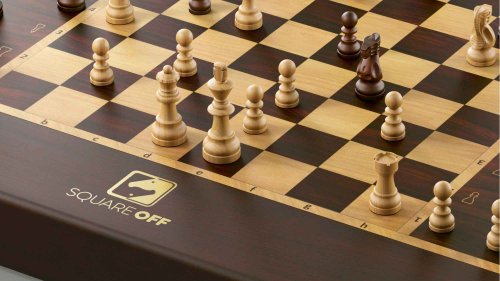 Square Off Grand Kingdom Set Smart AI Chessboard is so much smarter than meets the eye
