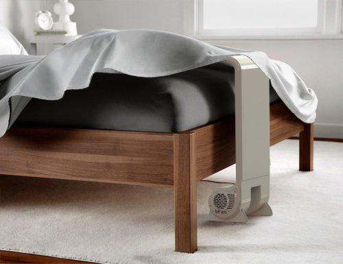 bFan Air Cooling Bed Fan replaces hot air with cool air for a better night's sleep