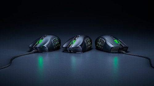 Razer Naga X ergonomic MMO gaming mouse features 16 advanced, programmable buttons