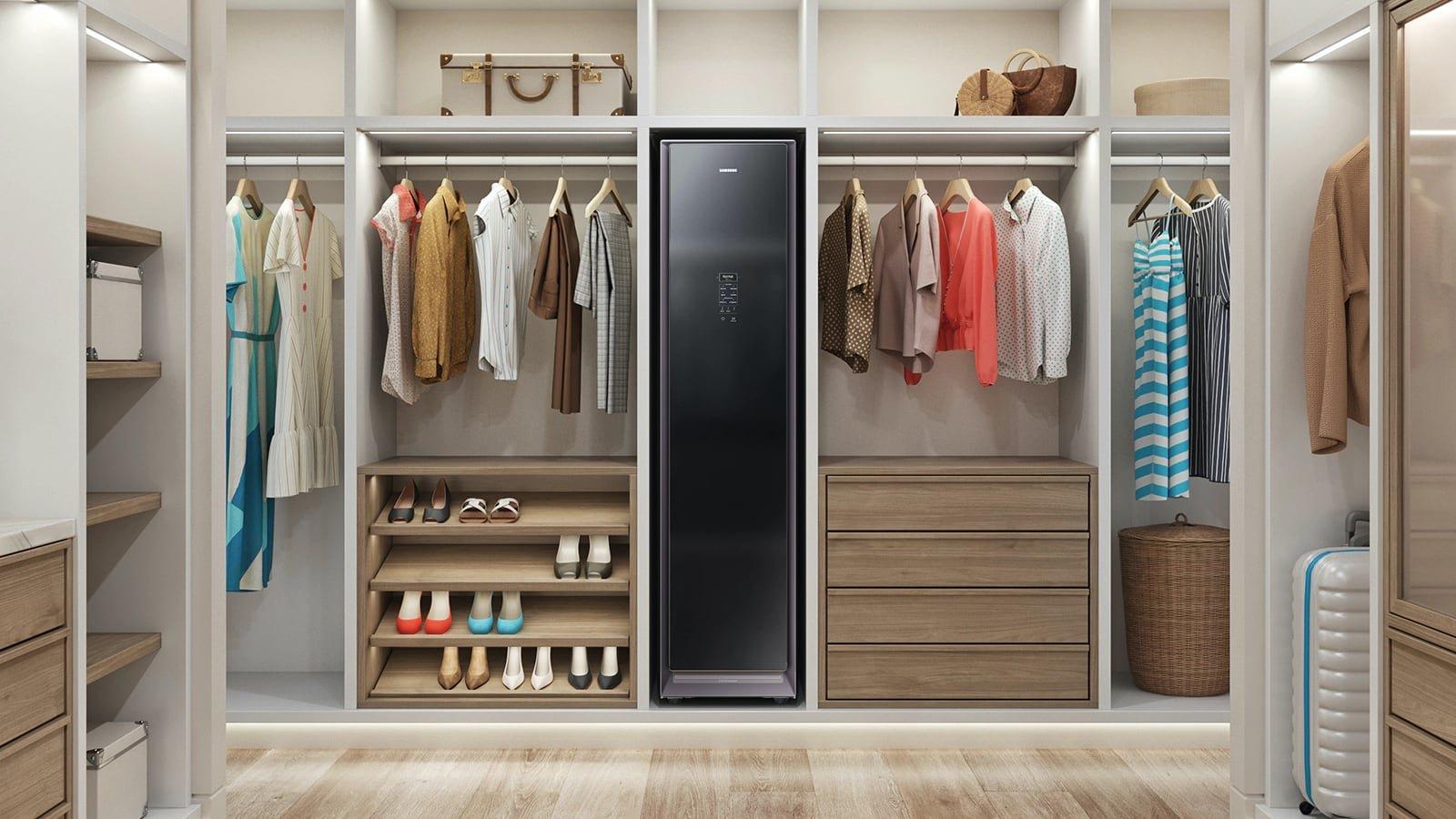 Samsung AirDresser keeps your wardrobe crisp and clean