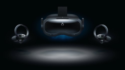 HTC Vive Focus 3 VR headset has a rear-mounted, swappable battery and 5K display
