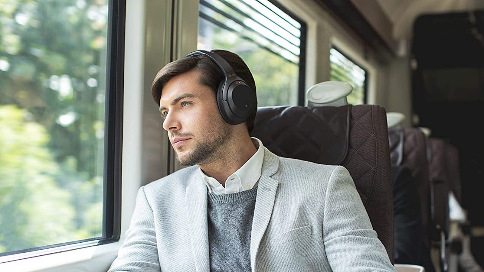 Sony WH-1000XM3 Smart Wireless Headphones completely immerse you with noise cancellation