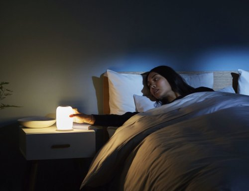 Casper Glow Smart Sleeping Light helps you fall asleep faster
