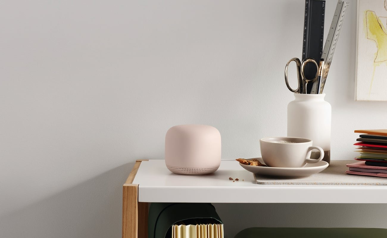 Nest Wifi Router looks so good you won't want to hide it in a corner