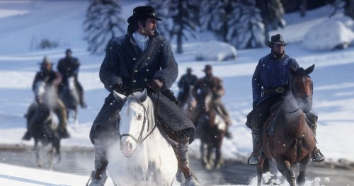 The Snow Is The Best Part Of Red Dead Redemption 2, Actually
