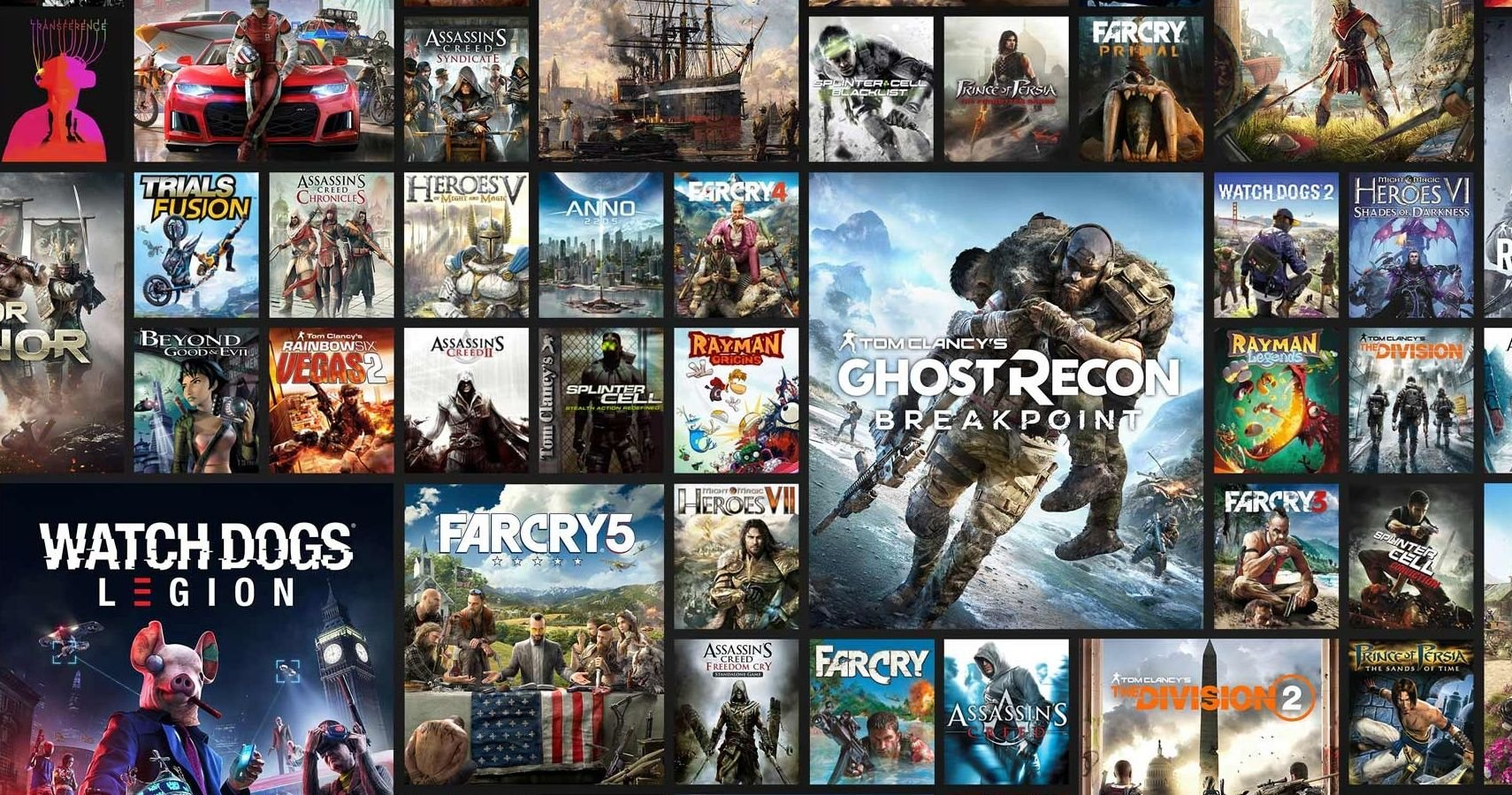 Every Announced Ubisoft Game Coming In 2020