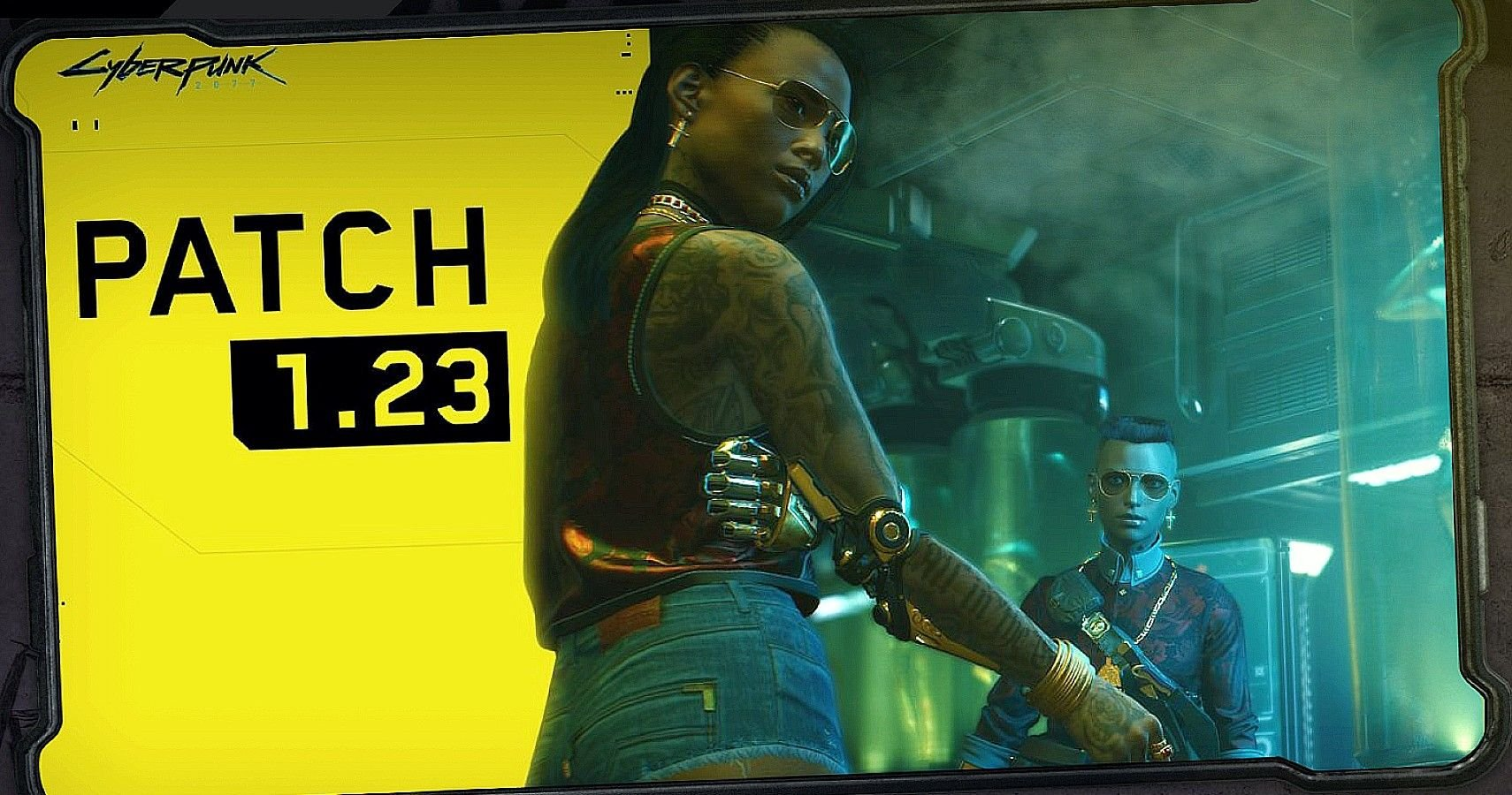 Cyberpunk 2077 Gets New Patch 1.23 Just Prior To Returning To PS Store