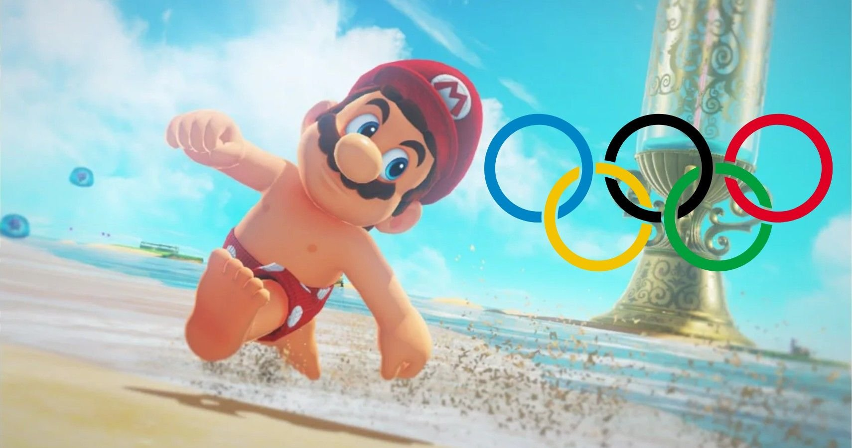 Scrapped Plans For Olympic Opening Ceremony Include 8-Bit Bathing Suit Mario