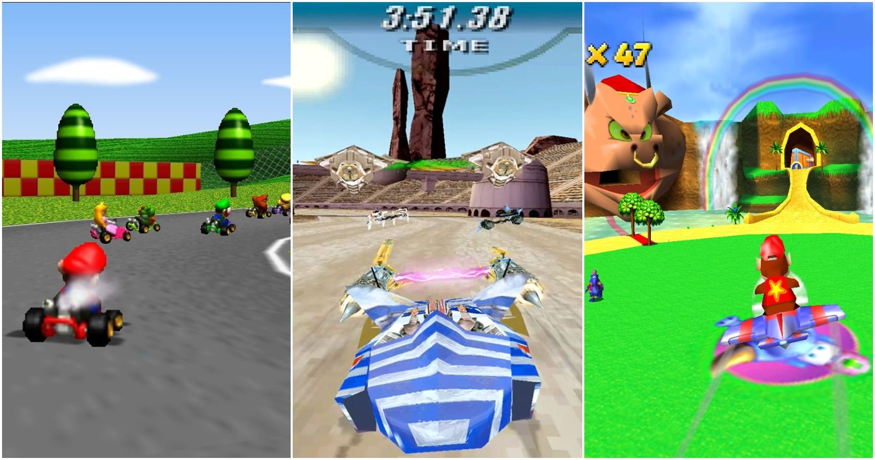 10 Of The Best Racing Games On The N64