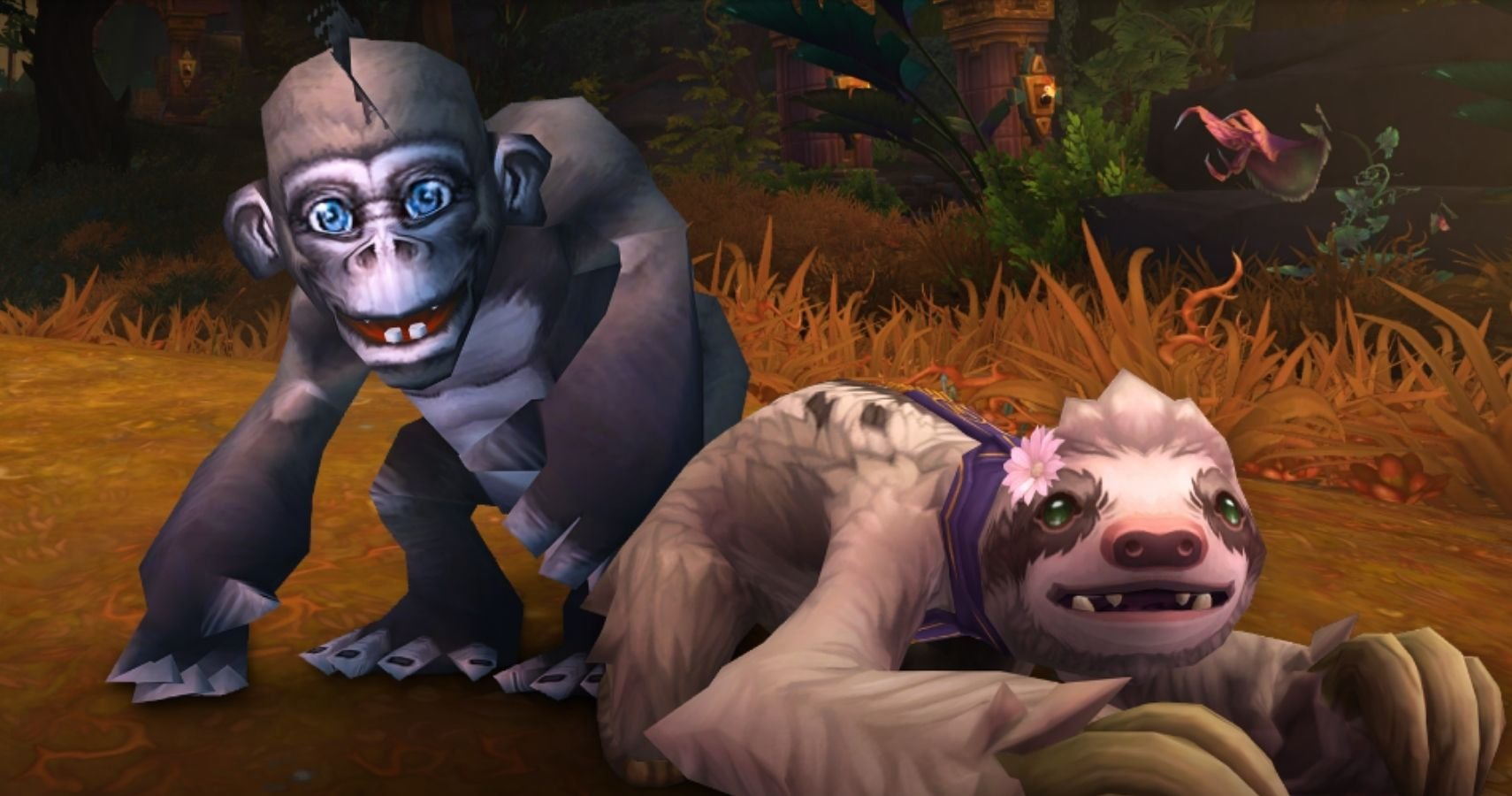World Of Warcraft Is Giving Out Pet Monkeys And Sloths, But Fans Aren't Sure If They're Actually Cute