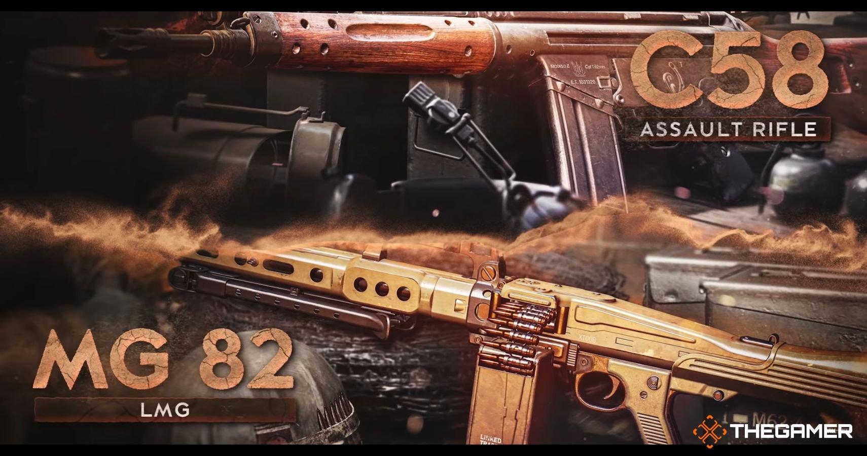 Warzone Season 4: MG 82 & C58 Stats & Best Loadouts