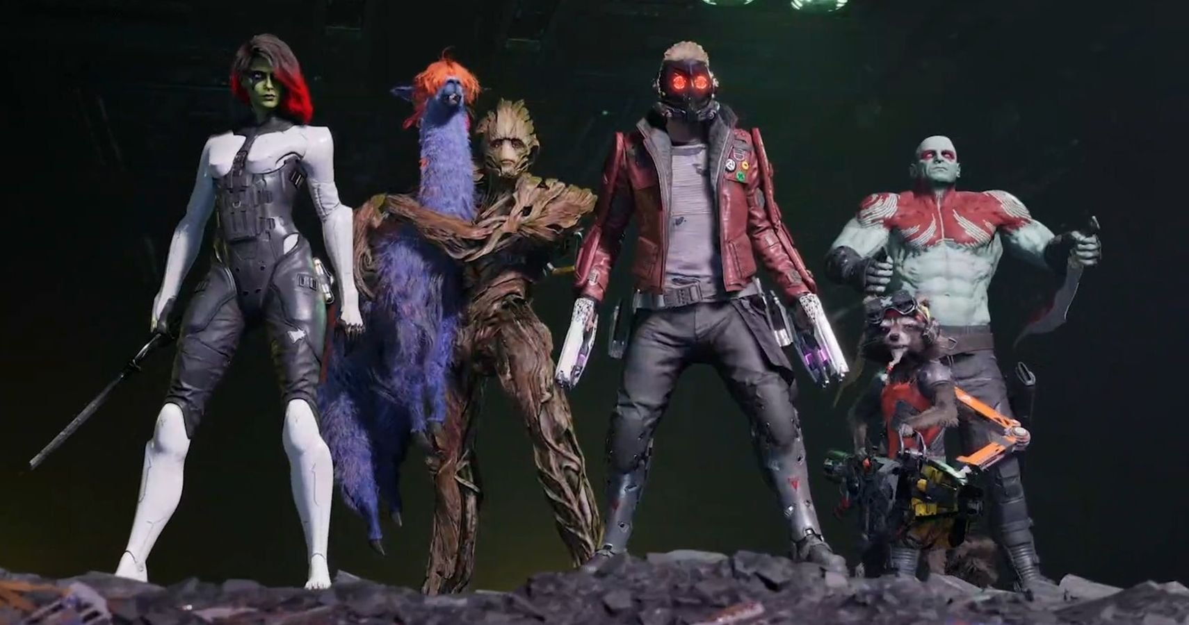 Square Enix Reveals New Guardians Of The Galaxy Game, Launches October 26