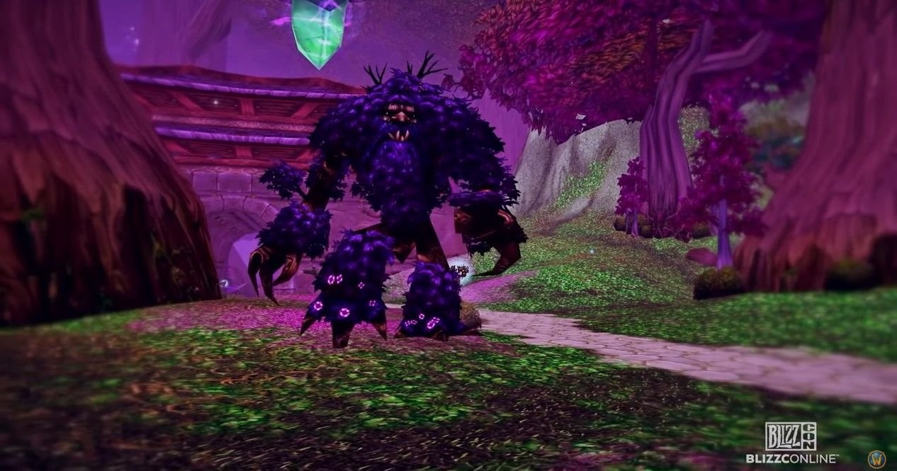 World Of Warcraft Lets You Live Out Your Ent Fantasy With A New Mount