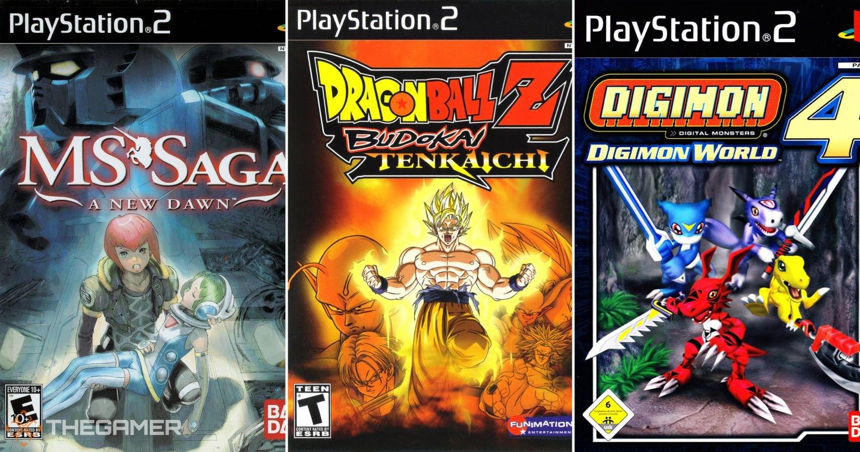 10 Best PS2 Games Based On Anime
