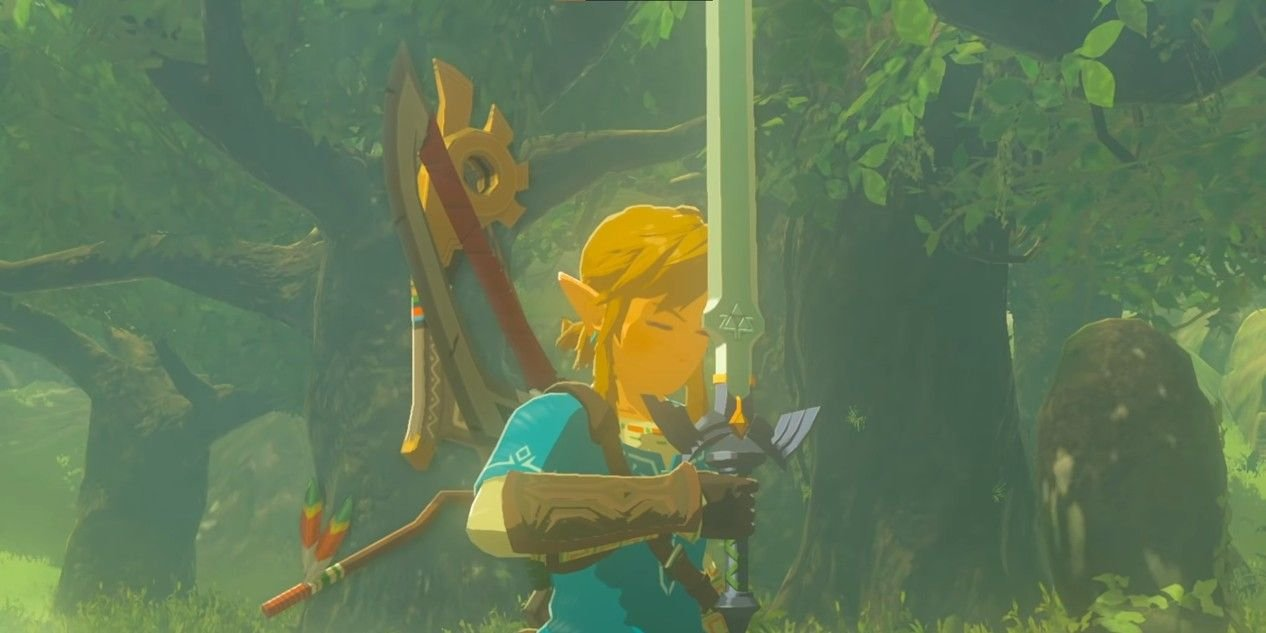 The Legend Of Zelda: Breath of the Wild Glitch Gives You The Master Sword With Only Three Heart Containers