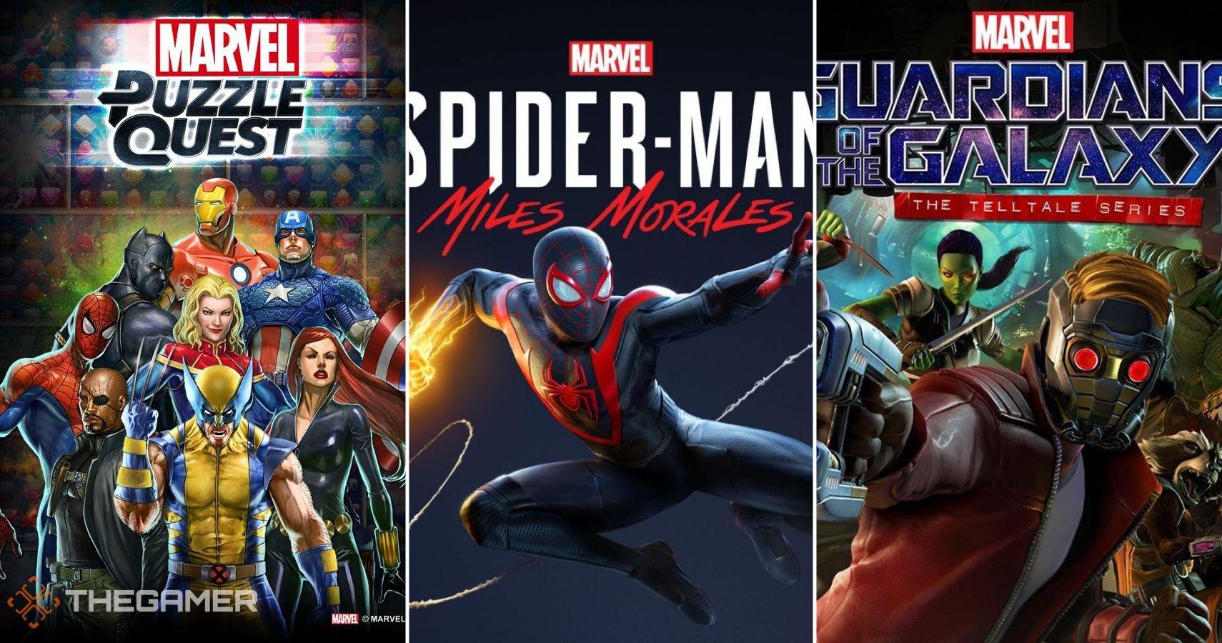 Marvel: The 10 Best Marvel Superhero Games Of The Last Decade (According To Metacritic)