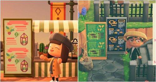 Animal Crossing: New Horizons – 15 Creative Simple Panel Designs
