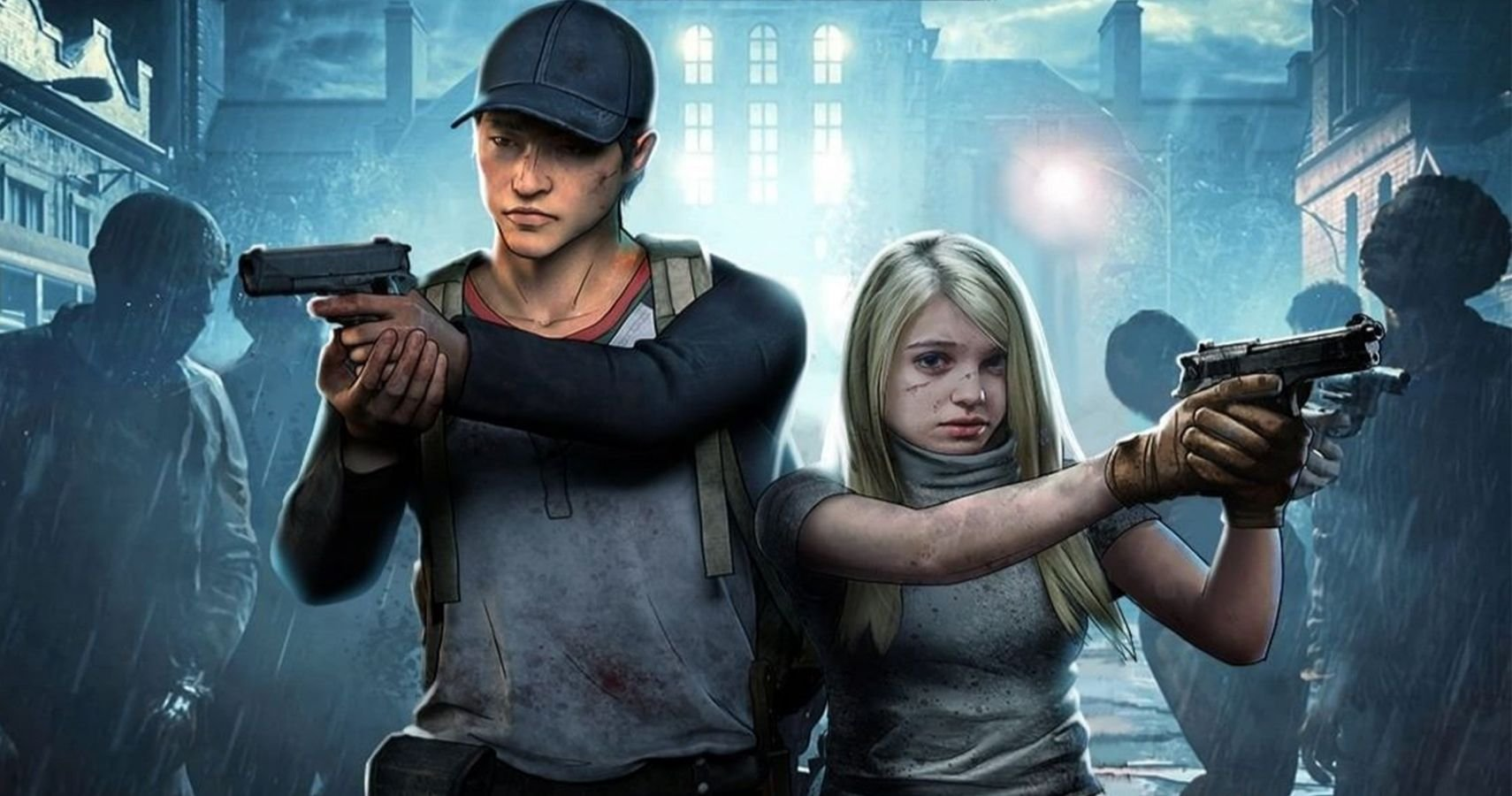 The Walking Dead Survivors Copy Resident Evil Artwork