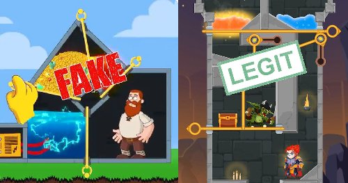 Someone Made The Mobile Game From Those Fake Ads