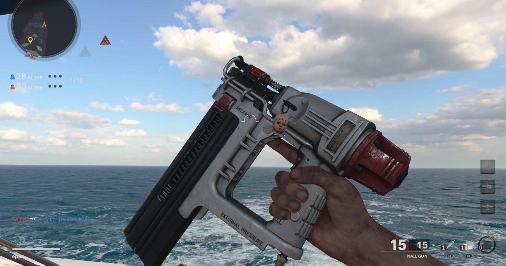 COD Black Ops & Warzone: How To Unlock The Nail Gun