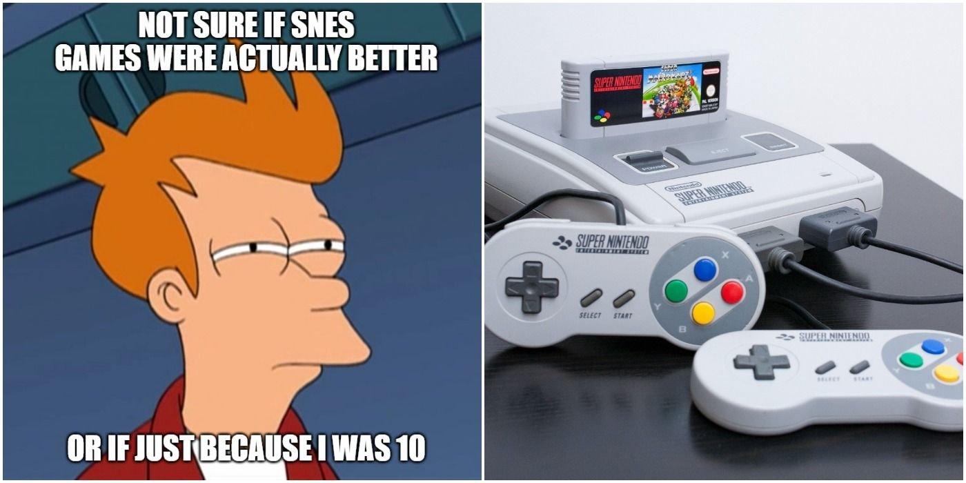 10 Super Nintendo Memes That Make Us Miss The 90s