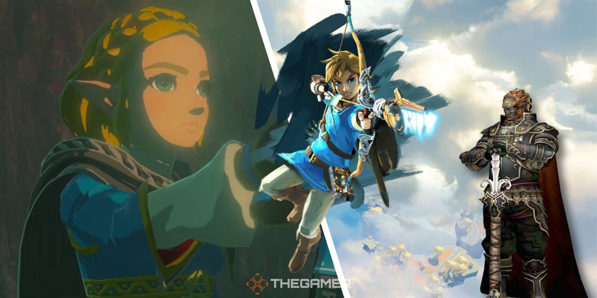 Breath Of The Wild 2 Could Have Playable Link, Ganon, And Zelda
