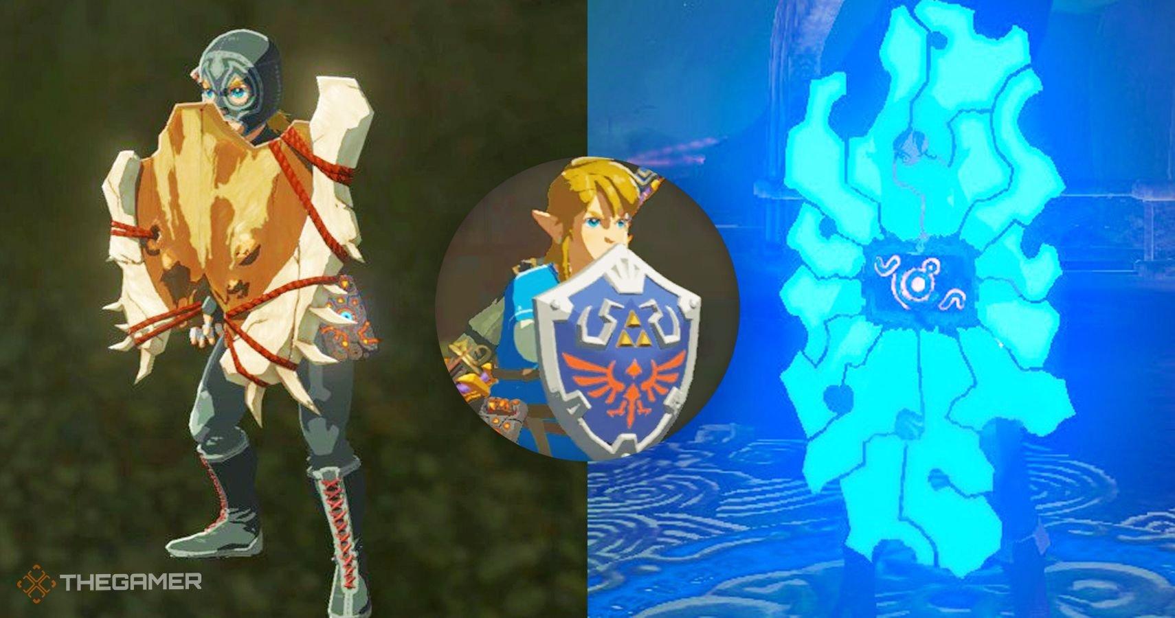 Zelda Breath Of The Wild: The 10 Best Shields, Ranked