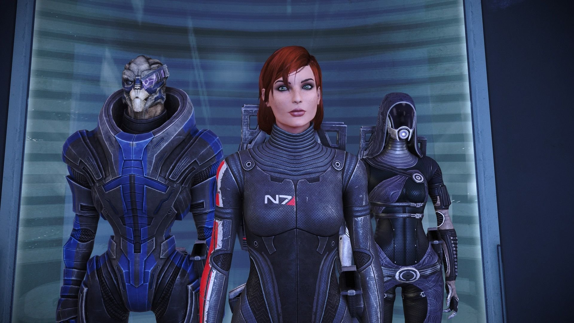 """Mass Effect: Legendary Edition's Easier Difficulty Allows Grandad To Have """"Most Fun He's Had In Decades"""""""