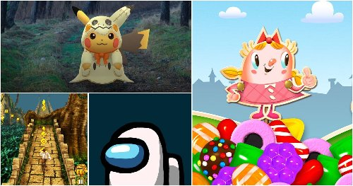 10 Most Downloaded Mobile Games
