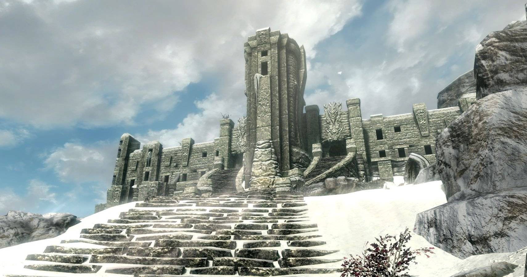 Skyrim: There Actually Aren't 7,000 Steps To High Hrothgar