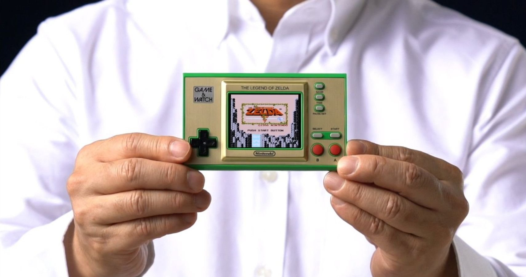 Nintendo Is Releasing A Zelda-Themed Game And Watch System, Includes Three Classic Zelda Games