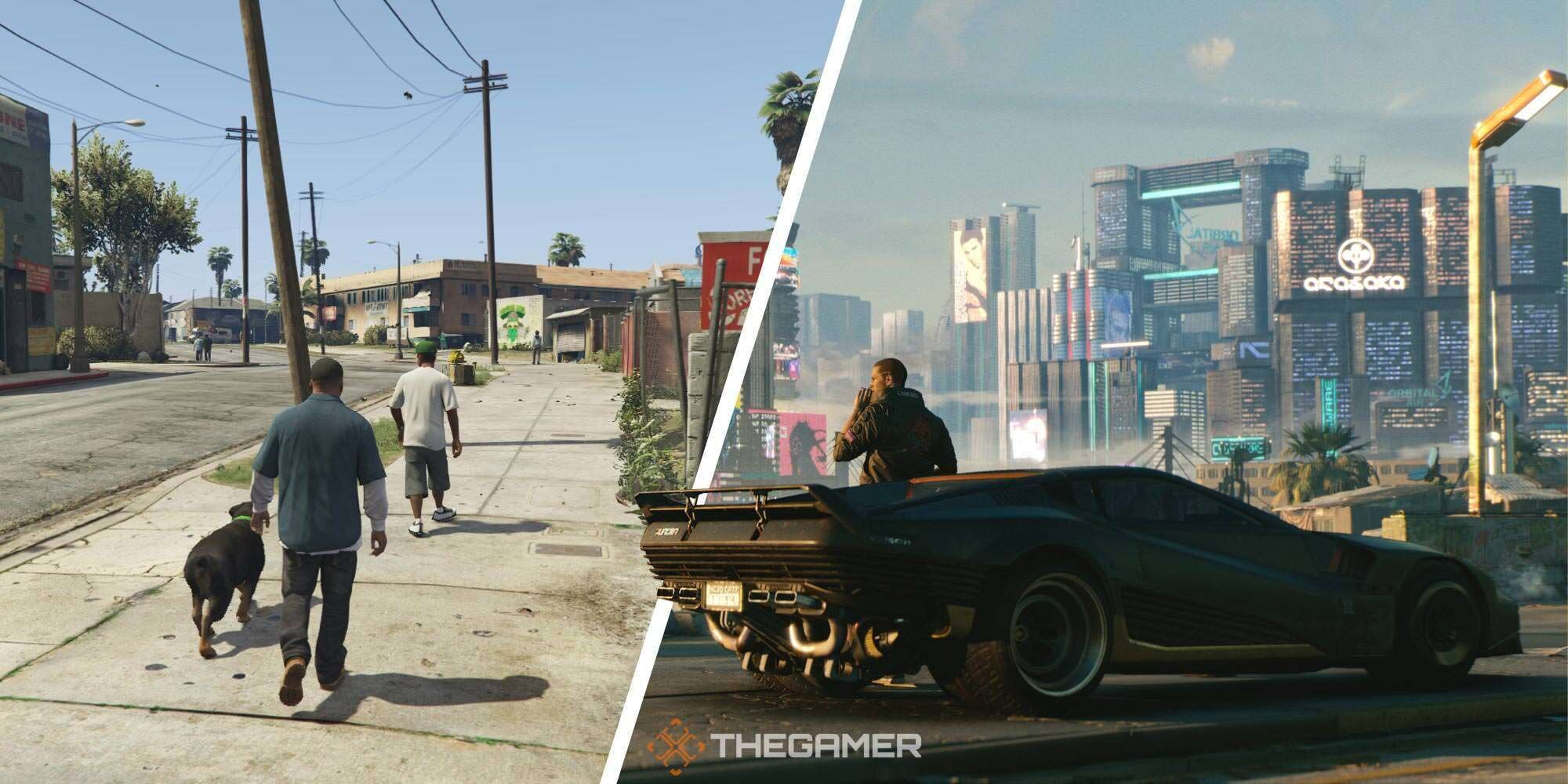 5 Ways Cyberpunk Is The Best Open-World Game (And 5 It Will Always Be GTA 5)