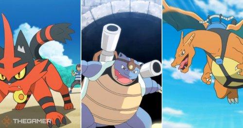 The 15 Strongest Starter Pokemon In The Pokemon Anime