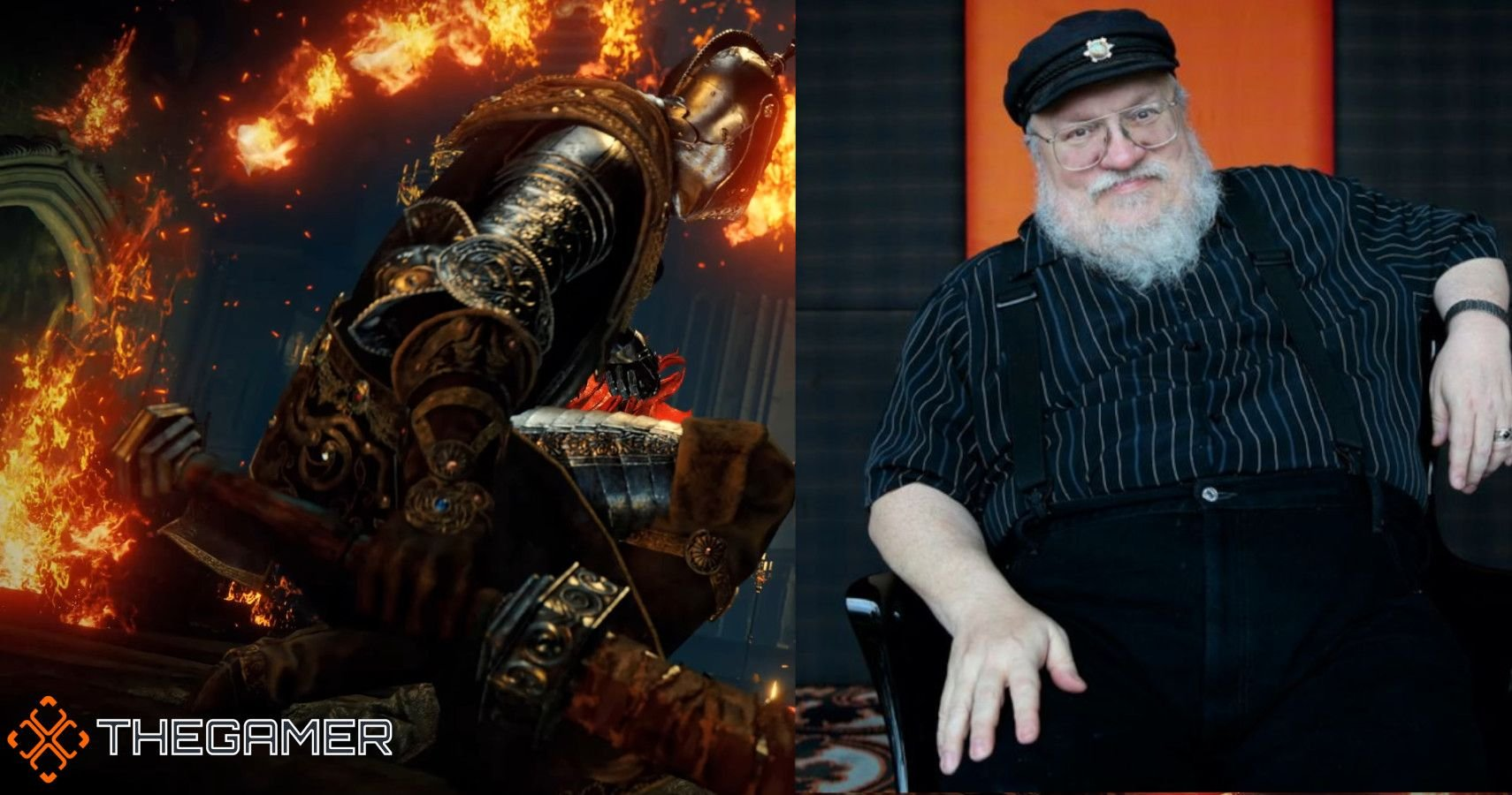 George R.R. Martin Wrote The Foundations Of Elden Ring Which FromSoftware Built Upon
